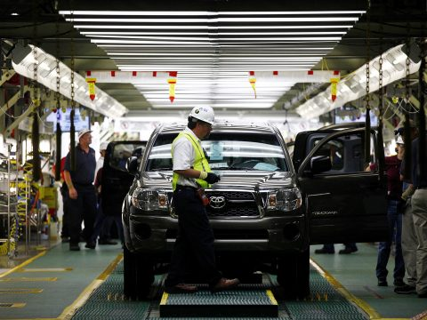 Toyota San Antonio Plant