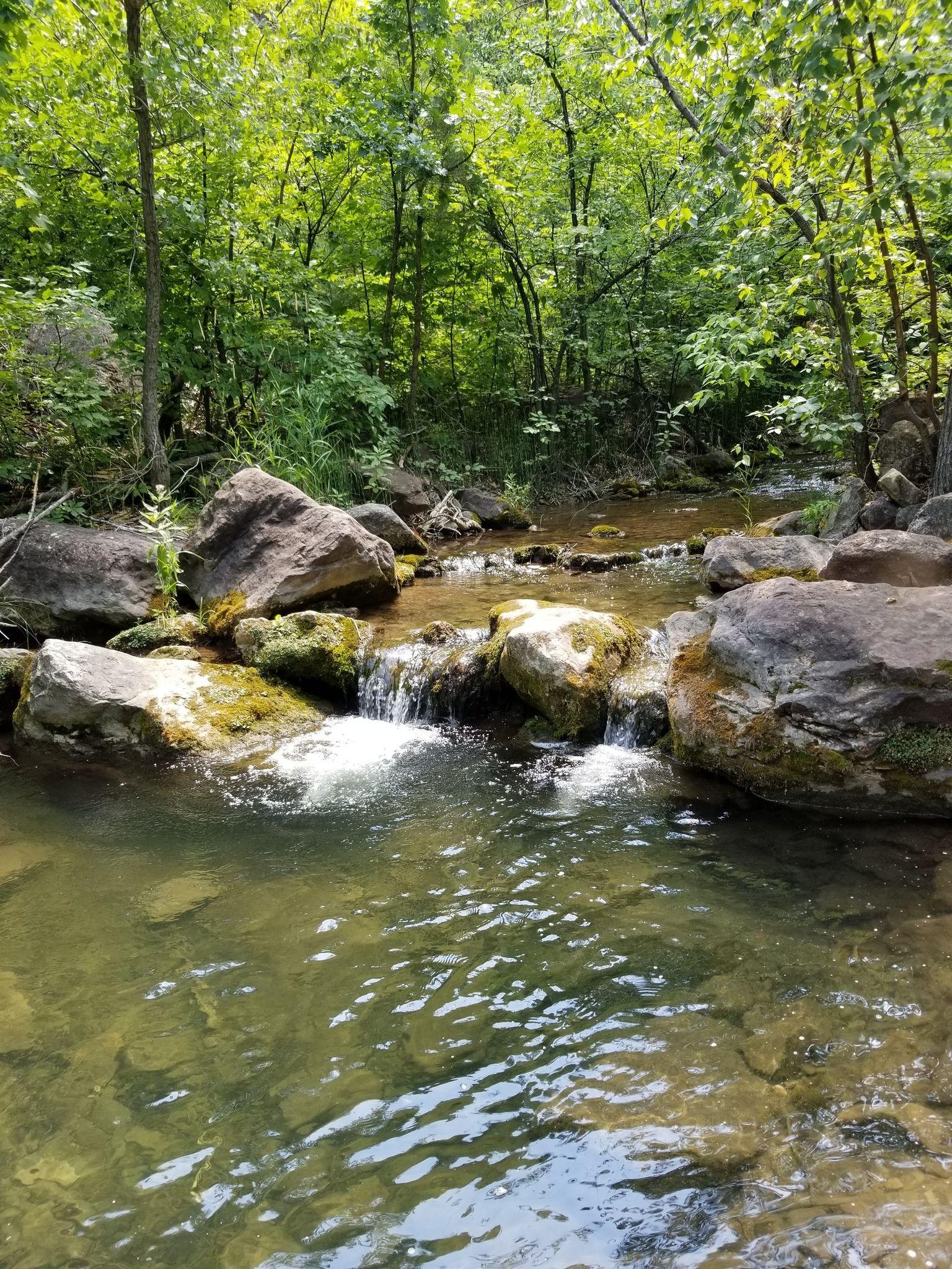 Little Elk Creek Trail near Piedmont, South Dakota