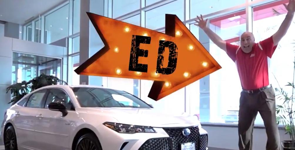 Denny Menholt Toyota Sales Consultant Ed Schuman explains Toyota Safety Sense P