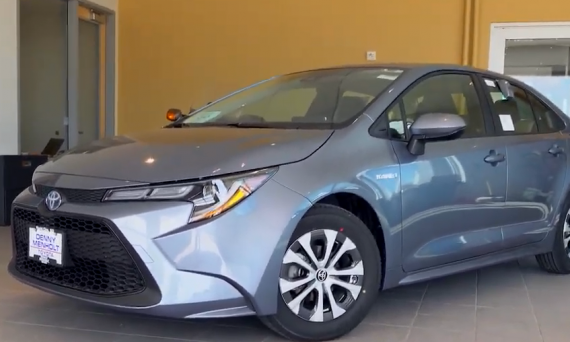 2020 Toyota Corolla Hybrid at Denny Menholt Toyota in Rapid City, SD