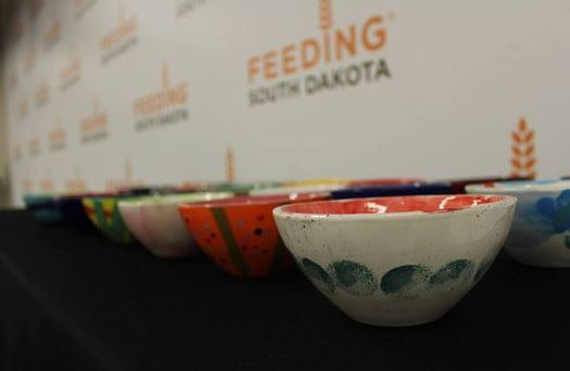 Empty Bowls event for Feeding South Dakota in Rapid City, SD